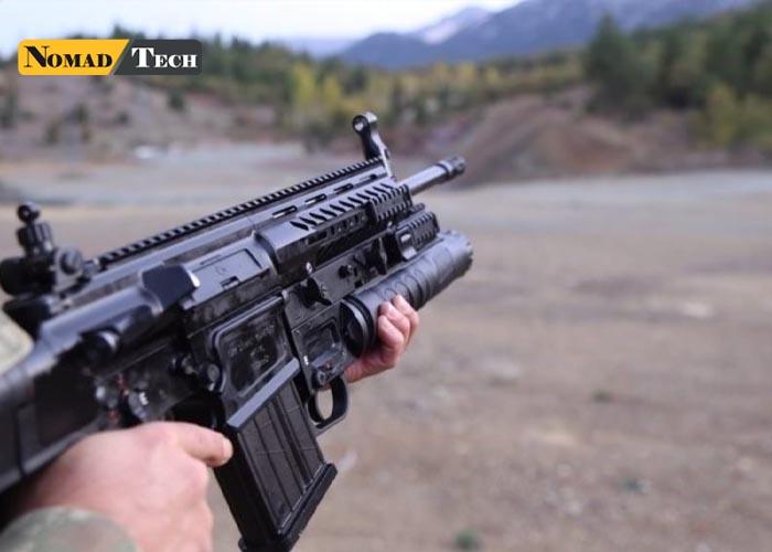 Hafifleyen Milli Piyade Tüfeği göreve hazır